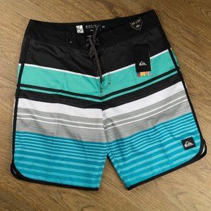 Quicksilver Board Shorts Multi-Color Size 34 NWT